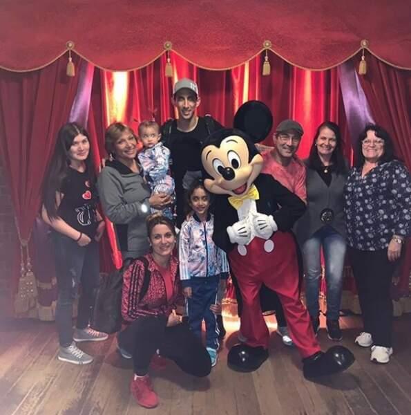 Et de ses attractions, comme ici à Disneyland !