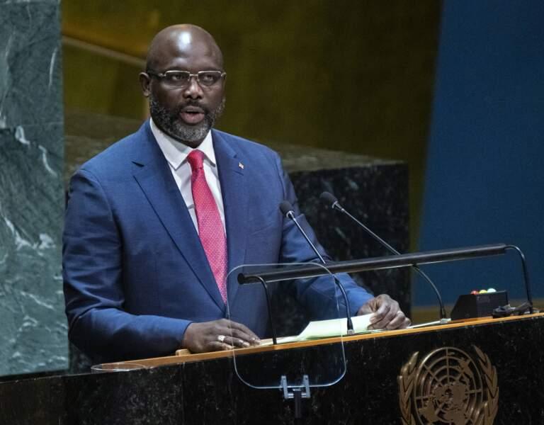 George Weah (ex-PSG) est devenu président du Libéria en 2018