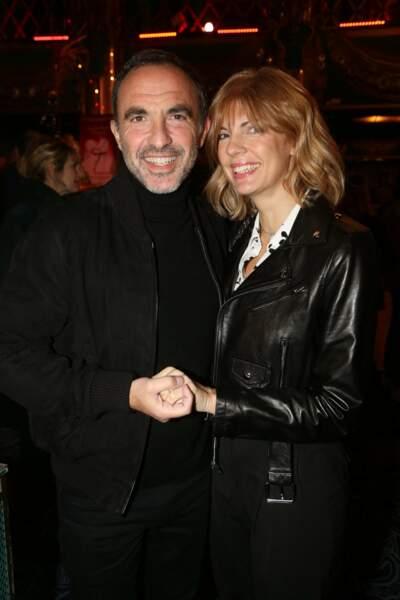 Nikos Aliagas et sa femme Tina Grigoriou