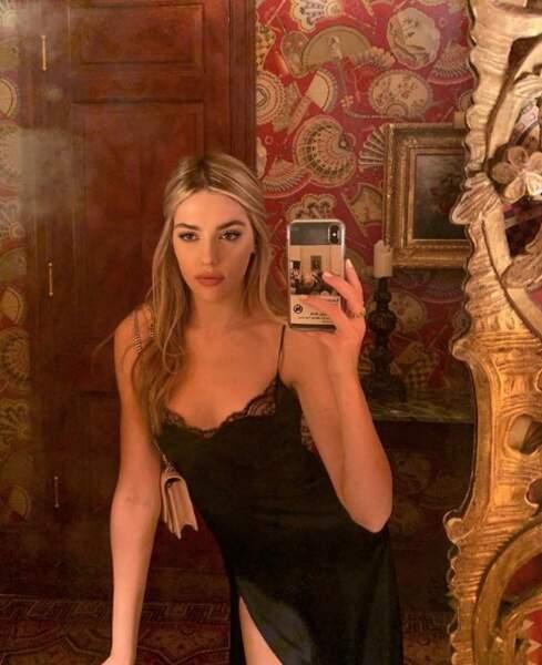 Selfie en mode miroir