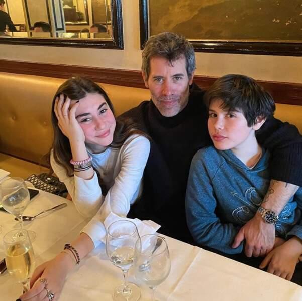 Jalil Lespert a célébré le 16e anniversaire de son aînée, Jena, en compagnie de son fils Aliosha.