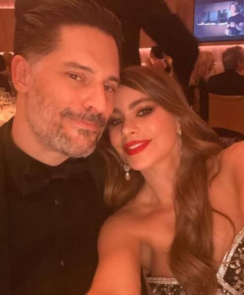 Selfie de couple pour Joe Manganiello et Sofia Vergara.