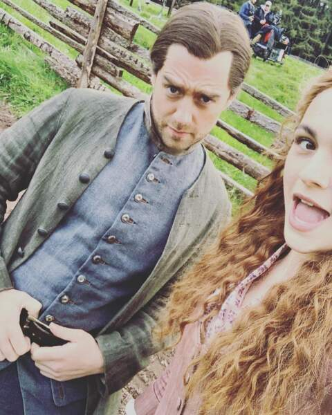 Le nouveau couple phare d'Outlander !