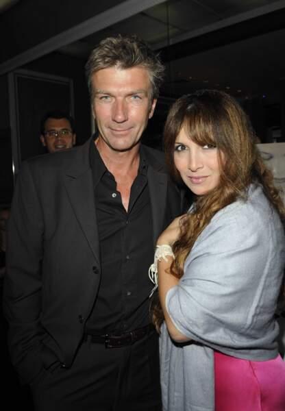 En 2009, avec l'acteur Philippe Caroit