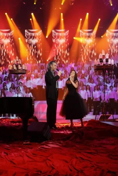 En 2010, elle retrouve Andrea Bocelli, qui l'a fait connaître avec leur duo Vivo per lei