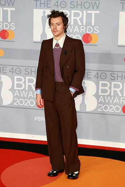 Un ex-One Direction : Harry Styles, qui n'a pas remporté le prix du meilleur artiste masculin...