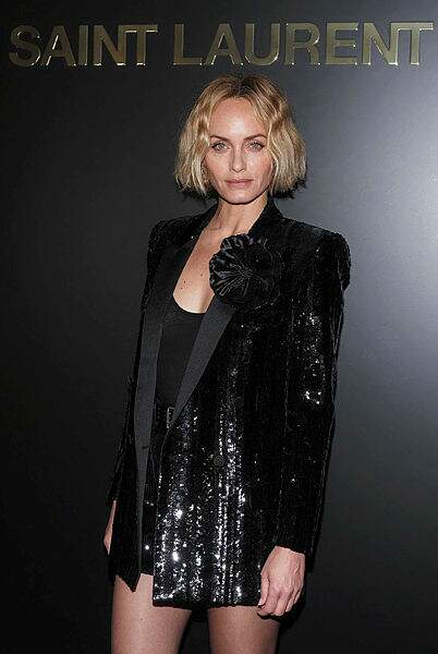 L'actrice et mannequin Amber Valletta.