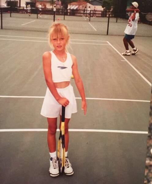 Et là, c'est Maria Sharapova.