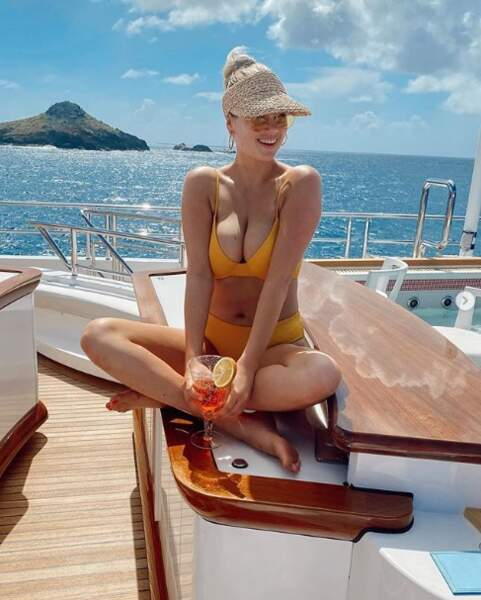 Pause bikini pour Kate Upton.