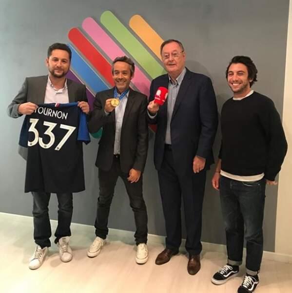 En septembre 2018, Quotidien recevait Philippe Tournon, l'attaché de presse de la Fédération française de football retraité après la victoire des Bleus lors de la Coupe du Monde en Russie (juillet 2018) !