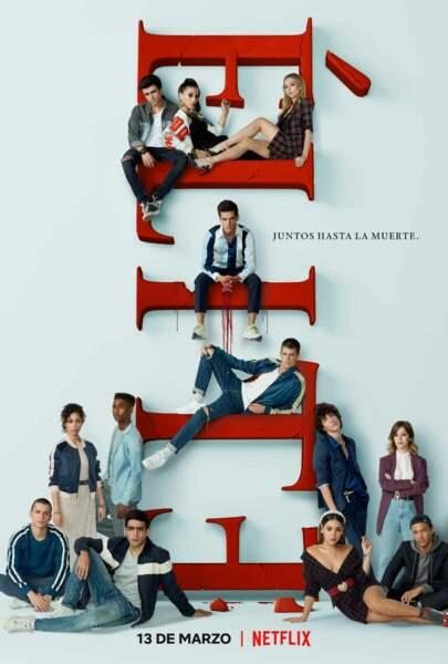 Voici l'affiche de la saison 3 d'Elite !