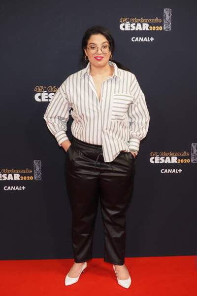 L'humoriste et actrice Melha Bedia