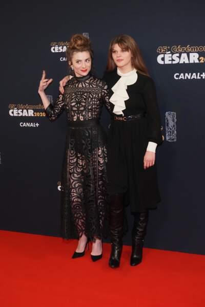 Sarah Suco et Céleste Brunnquell