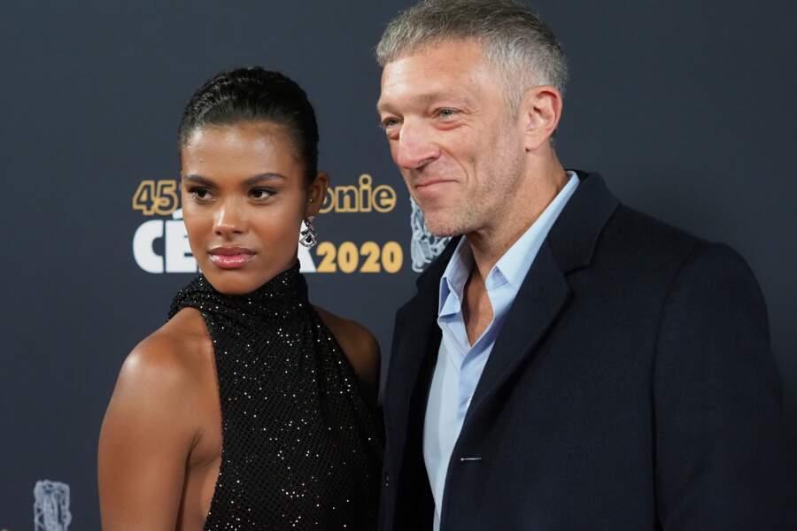Tina Kunakey et Vincent Cassel