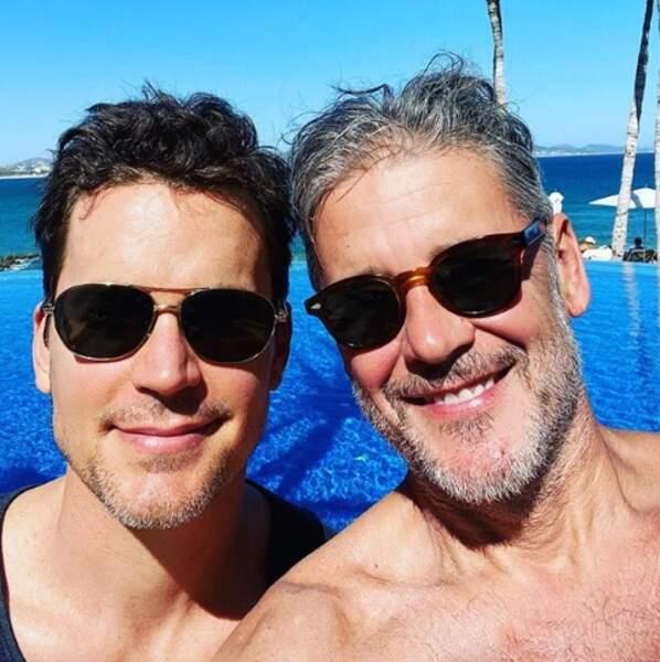 Matt Bomer et son mari, Simon Halls.