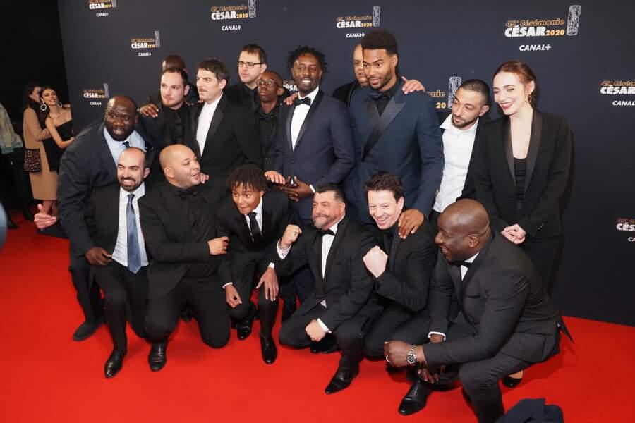 l'équipe du film Les Misérables