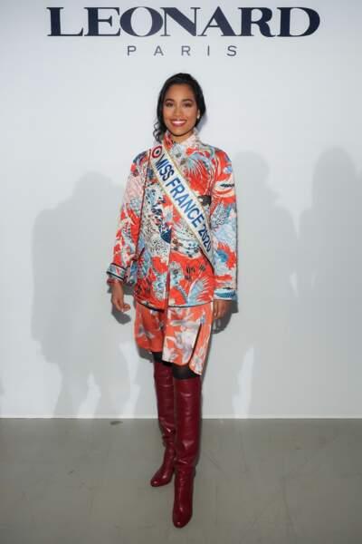 Clémence Botino, en tant que Miss France 2020, était également de la partie