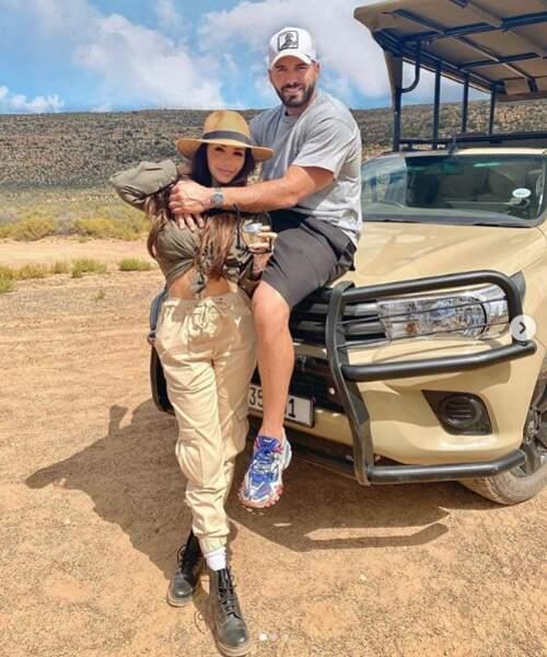 Nabilla et Thomas s'éclatent lors d'un safari en Afrique du Sud !