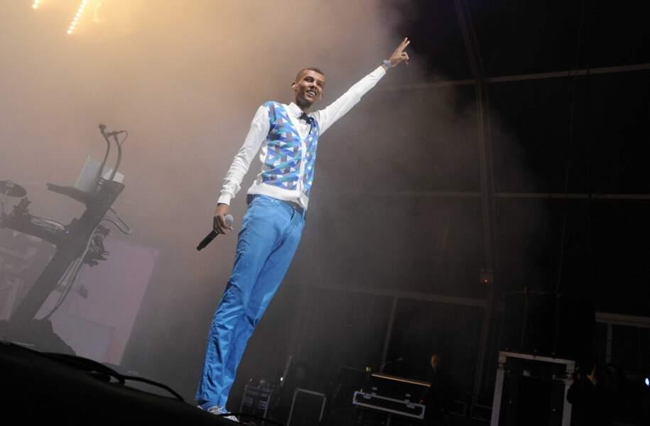 En 2011, il rayonne en bleu et blanc, aux Eurockéennes de Belfort