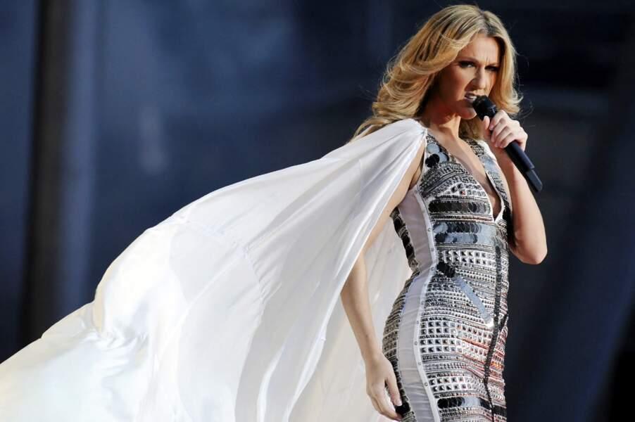 2008, concert à Berlin. Céline sort les voiles !