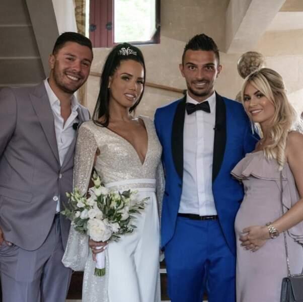 Ils ont d'ailleurs tous été conviés au mariage de Manon et Julien