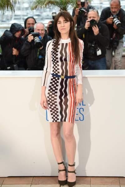 L'audace de motifs géométriques à Cannes en 2014