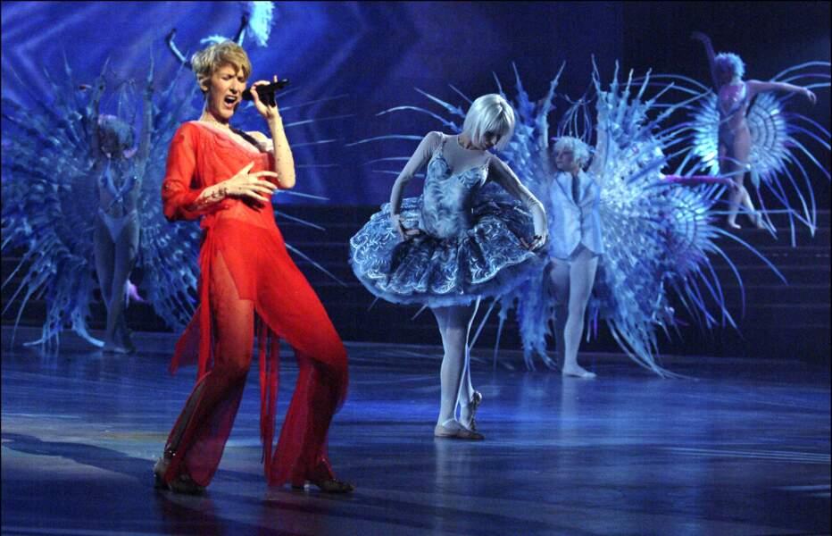 Elle s'installe à Las Vegas où son show est un tel succès qu'elle s'y produit jusqu'en 2007