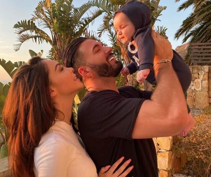 Thomas Vergara coule des jours heureux avec Nabilla et leur fils