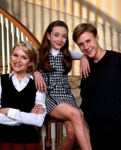 Les enfants Sheffield : Maggie, Gracie et Brighton
