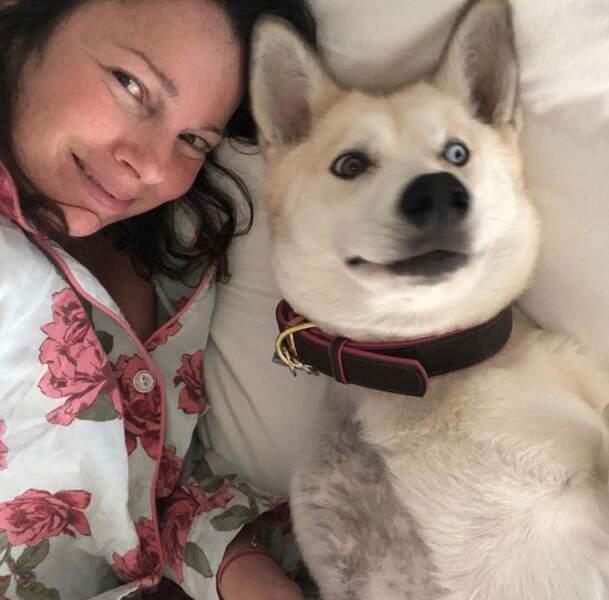Et le chien de notre nounou préférée, Fran Drescher.