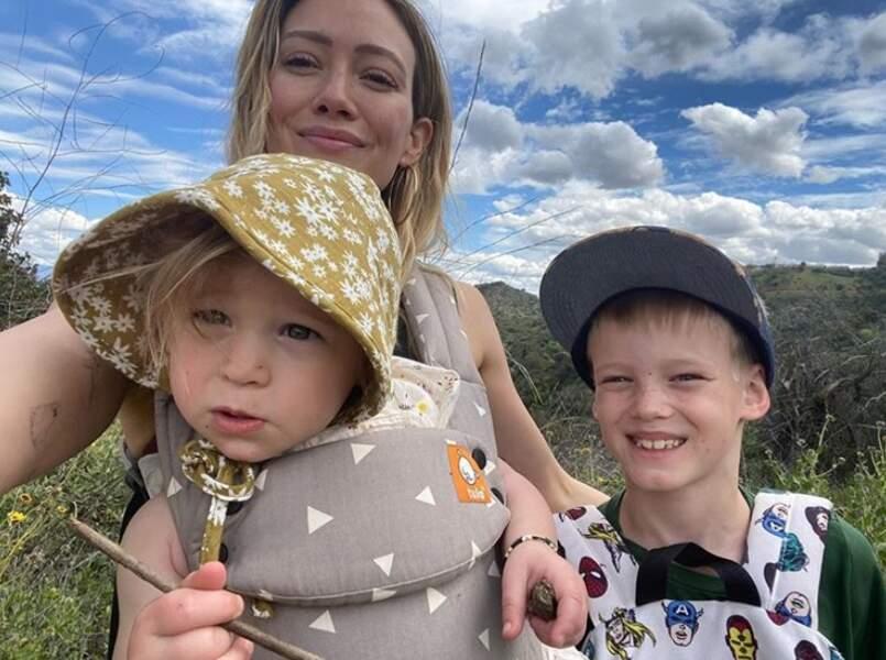 Pour Hilary Duff et ses enfants Banks et Luca...