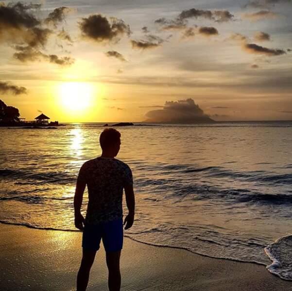 ... ou devant un beau coucher de soleil.