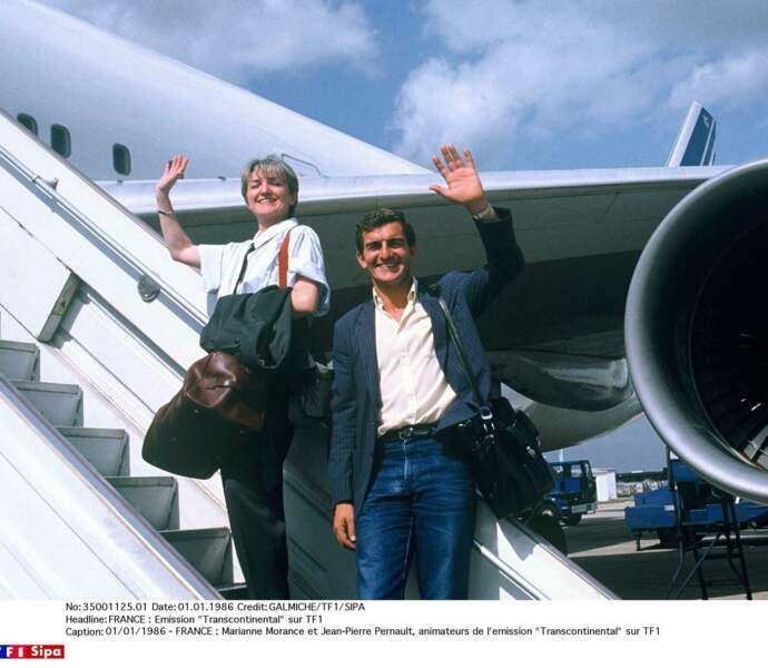 """Avec Marianne Morance """"Transcontinental"""" présentait des reportages de voyages réalisés au bout du monde. Paré au décollage!"""