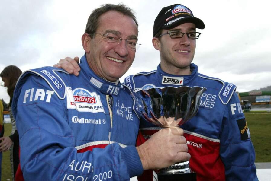Jean-Pierre partage sa passion de la course automobile avec son fils Olivier: victoire au Trophée Andros 2007!