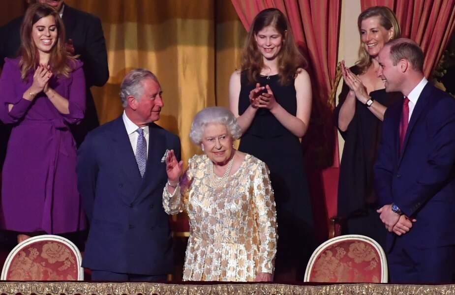 Concert Royal donné en l'honneur de l'anniversaire de la Reine Elisabeth II , le 21 Avril 2018