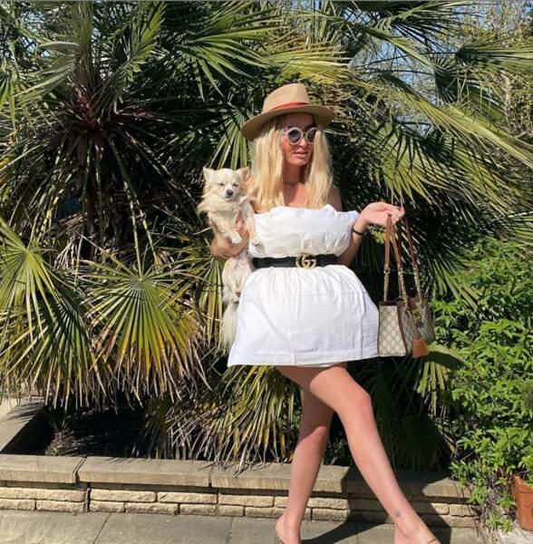 Beverly Bello ressemble à son idole, Paris Hilton