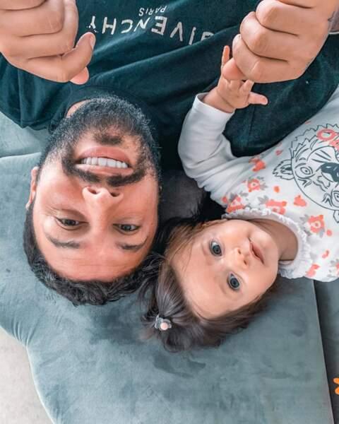 C'est le cas aussi de Kevin Guedj et sa fille Ruby... Inséparables