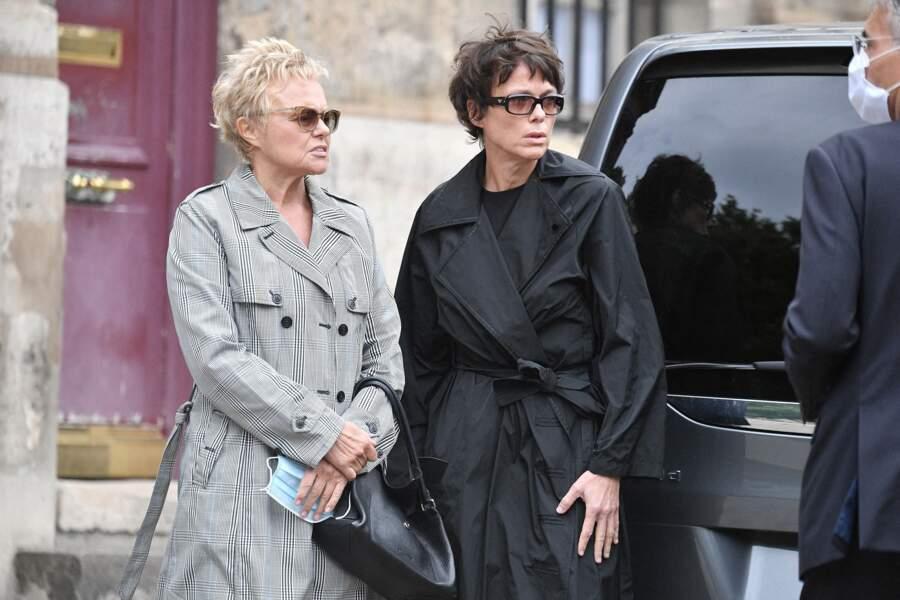 Muriel Robin et Anne Le Nen