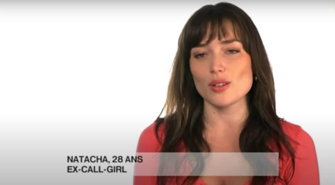 Dans un épisode de Le jour où tout a basculé, diffusé en 2012, Elsa Esnoult campe Natacha, une ex-call girl…