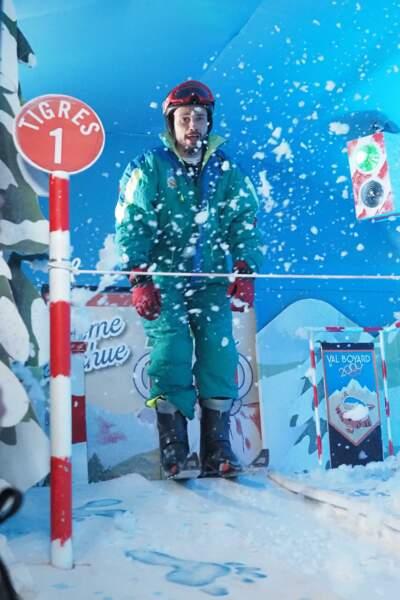 Petit tour aux sports d'hiver pour Tom Villa !