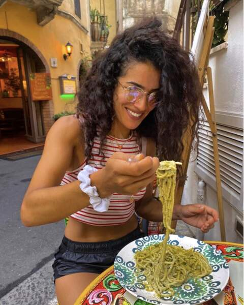 Sabrina Ouazini, elle a mis le cap en Sicile...