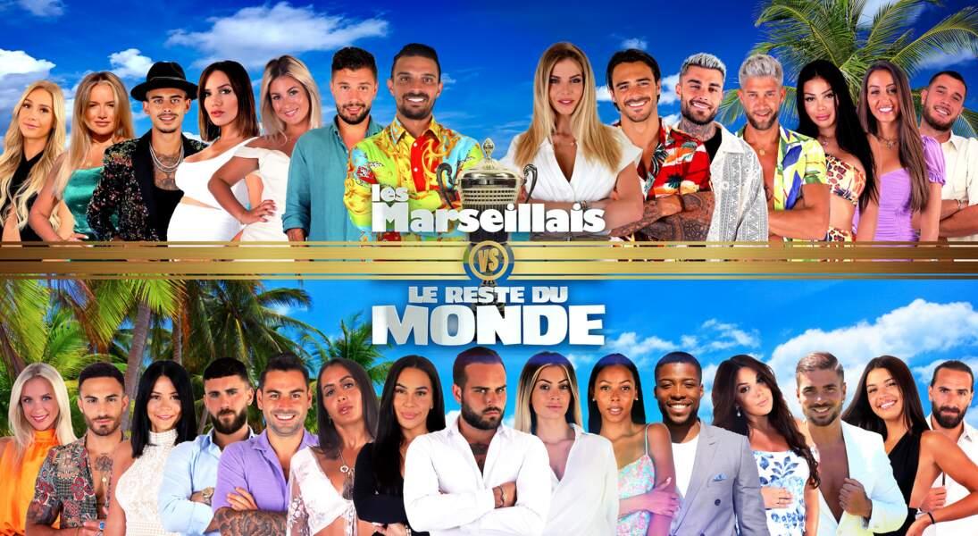 La photo officielle des Marseillais VS Le Reste du Monde 5. Cette année, 27 candidats vont s'affronter !