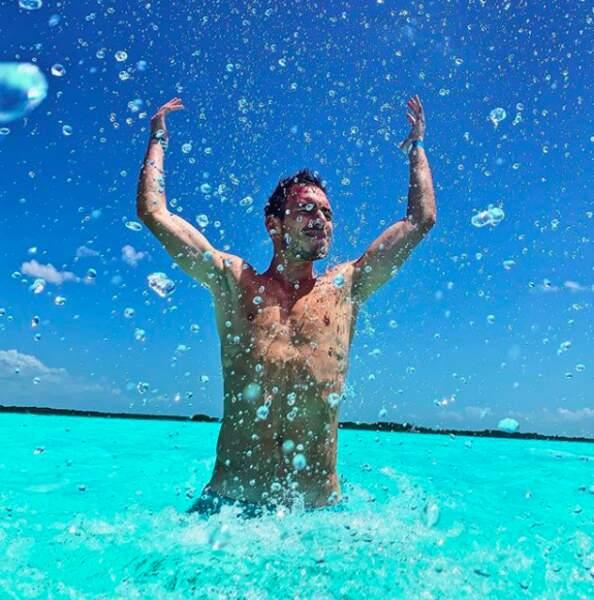 L'eau, toujours propice à l'amusement !