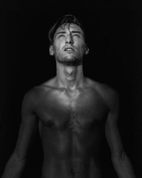 Attention, on vous prévient, sur Instagram Brice pose souvent torse nu...