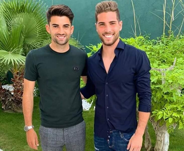 Les deux beaux gosses du clan Zidane