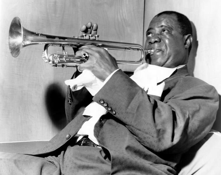 ... Ou le légendaire Louis Armstrong !