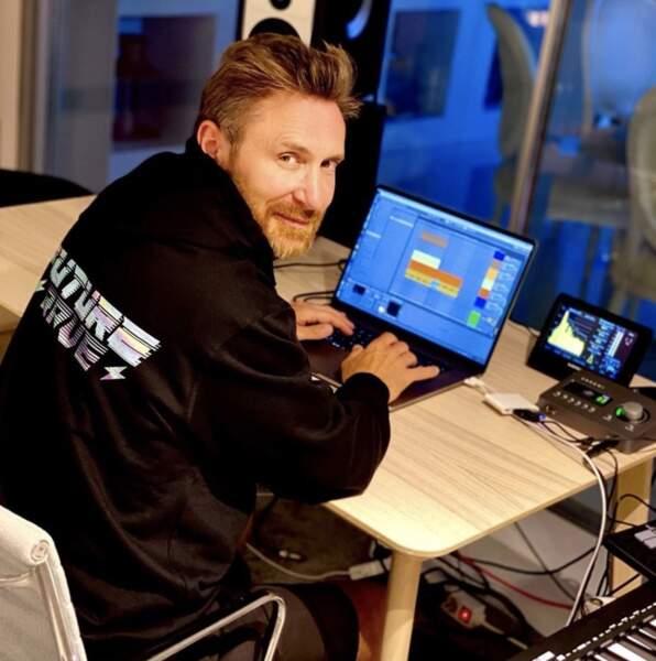 Fini les vacances également pour David Guetta