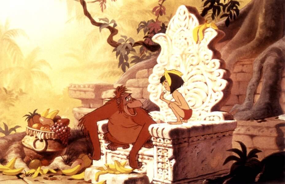 King Louie, le roi des singes de la jungle, swingue comme...