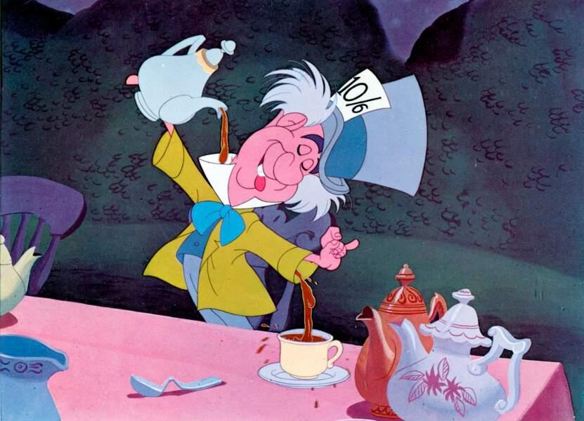 Vous vous souvenez du Chapelier fou dans Alice au Pays des Merveilles ?