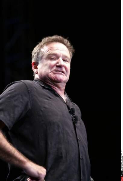 ... le non moins fantasque Robin Williams, qui lui a prêté sa voix, ses mimiques et son visage rieur